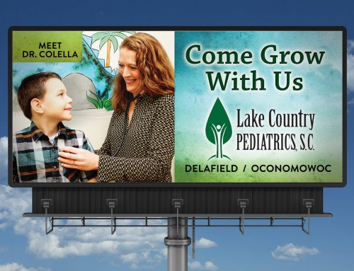 Lake Country Pediatrics Billboards