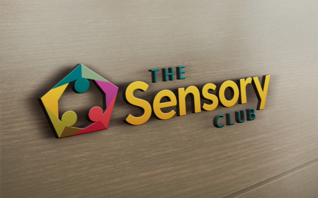 Sensory Club Logo Signage