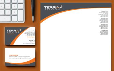 Terra Staffing Agency Identity