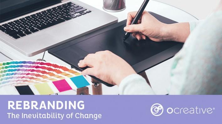 Rebranding Blog Header