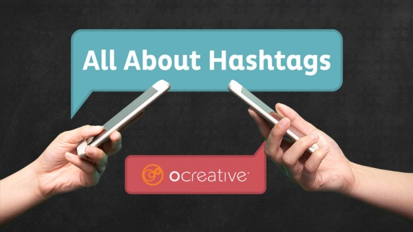 Hashtag Blog Header