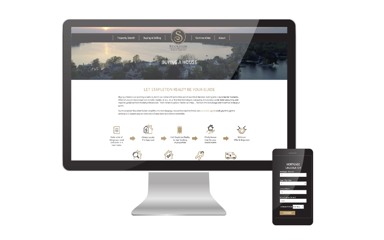 Award-Winning Real Estate Website