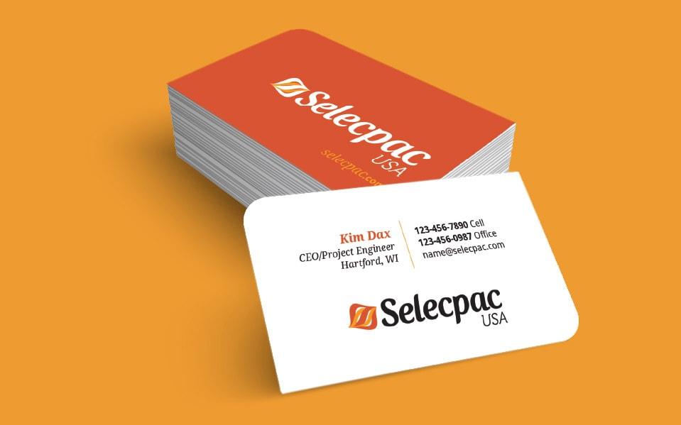 Branding Selecpac Bizcards