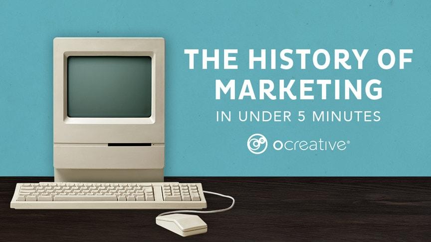 History of Marketing Header