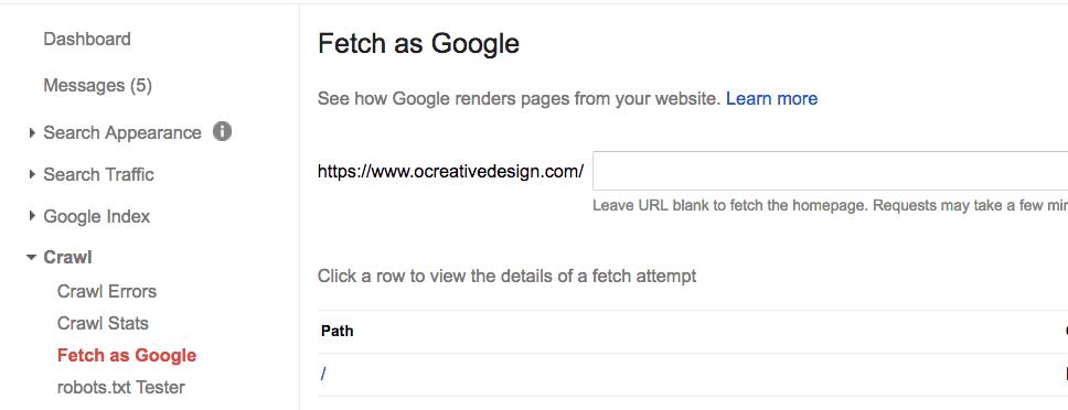 google site map fetch