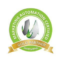 Sharpspring Gold Partner Badge